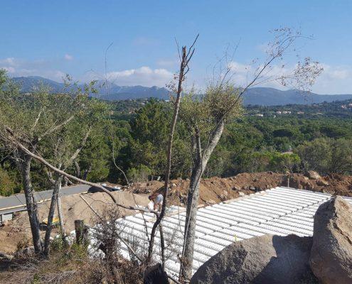 Construction Villa Porto-Vecchio